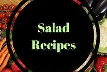 Salad recipes / Fruit salads, summer salads, healthy salads, meal salads.  So many delicious recipes and ideas!