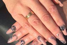 Nails, Nail Art, Unhas de Gel, Unhas Acrílicas / Alguns dos trabalhos de unhas e nail art executados por nós