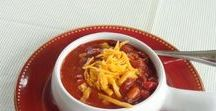 Recipes: Soup, Stew & Chili / Delicious recipes for soups, stews and chili made on the stove top or in the crock pot.