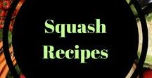 Squash recipes / butternut, spaghetti, all squash in so many recipes! Perfect for your fall meals.