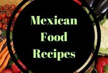 Mexican food Recipes / Mexican food - tacos, enchiladas, nachos! Delicious recipes from south of the border.