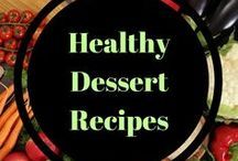 Healthy dessert recipes / desserts and healthy treat recipes to indulge without the guilt.