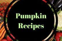 Pumpkin recipes / All things pumpkin.  So many recipes to enjoy this Fall food.