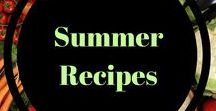 Summer foods / Summer fruit, popsicles, and grilling!