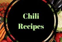 Chili Recipes / Heartier chili recipes for colder temperatures.