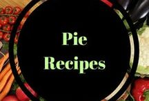 Pie Recipes / pumpkin pies, apple pies, holiday pies, all delicious warm pies!
