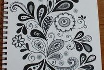 Crafts > Drawing, Henna, Zendoodle, Patterns / Drawing tips, and interesting pattern ideas for henna designs and zendoodles.