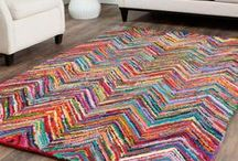 Crafts: Rag Rugs, Latch Hook Canvas / How to make a rag rug, t-shirt rug, or latch hook canvas rug.