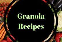 Granola Recipes / Easy, Tasty Granola Recipes