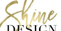 SHINE | design / Weekly room designs with product sources and paint color recommendations.