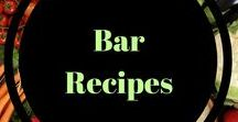 Bar Recipes / Easy recipes to make granola bars, snack bars and energy bars at  home. Easy on the go snacks!