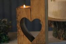 Craft: Woodwork & Wood / Woodworking projects, crafts made with wood. Twig and branch crafts. Nature crafts.
