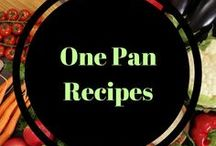 One Pan Recipes / Easy, simple recipes that can be made in one pot or pan. Skillet recipe creations