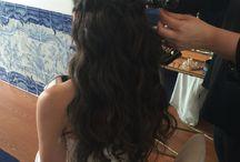 Noivas e Casamentos! Unhas, Pestanas e Penteados! Brides / Unhas, Pestanas, Penteados para noivas feitos por nós! Nails, Lashes and Hair Up done by Dez Studio
