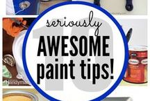 Create: Paint It! / If I can't fix it, I paint it! Lots of tips for getting the best finish when painting furniture and lots of ideas for painted furniture for the home.