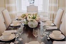 dining room / by Rebekah Lindsey Frye