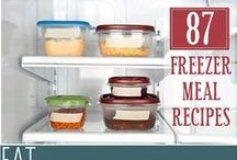 Yum: Freezer Meals / I don't cook (much) but maybe someone will fill my freezer with these delicious recipes!