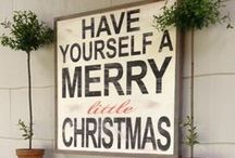 Celebrate: Christmas / It is the most wonderful time of the year. Check out the inspiration board of someone who loves Christmas and starts shopping in August.
