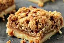 Decadent and Delicious Dessert Squares   / I have one of the best jobs in the world. I'm the Chief Yum Officer for Tallahassee's favorite creative catering company. My work allows me the delicious opportunity to play with fabulous flavors. In the process, I do lots and lots of culinary research online. Lucky you... I'm starting to pin some of this research on my Pinterest boards. Bon Appetit!