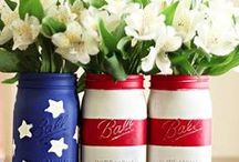 Celebrate: July 4th / Celebrate America with these Fourth of July and Independence Day ideas. Adorn your summer party with festive red, white, and blue decor, then enjoy the fireworks.