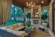 outdoor living / by Rebekah Lindsey Frye