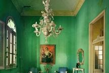 Green with Envy / Green is a relaxing and refreshing color. / by HilLesha O'Nan (lifestyle + travel)
