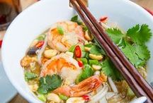 yum...chinese take-out... / delicious oriental food recipes / by Debbie Young