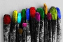 cool...color splash... / color splash photography / by Debbie Young