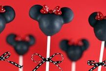 celebrate...mickey & minnie party... / mickey and minnie mouse birthday party ideas / by Debbie Young