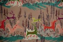 I Love Novelty Prints! / Forties and fifties novelty prints are the best!!! The wackier, the better...