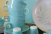 Virgie's Kitchen / Vintage kitchen ideas for my dream restaurant...named after my Grandma Virgie!