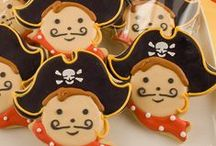 celebrate...pirate party... / pirate birthday party ideas / by Debbie Young