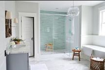 Home: Bathroom / We are making over not one bath, but two! Collecting inspiration to makeover our plain baths to dream retreats.