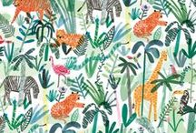 Crafts | Tropical Animals / Crafty ideas to learn about all the animals that live in the savanna, jungle and rainforest.