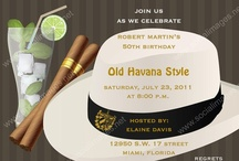 """Havana Nights / """"Havana Nights"""" is curated by Canopy Rose Catering, a Tallahassee, Florida catering and special event company. / by Chef Kathi"""