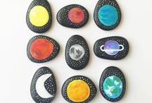 Crafts | Outer Space / Out of this world crafts, inspiration and hands-on activities to teach children about space.