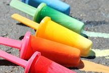 DIY | Art Supplies / Tips and ideas to make arts and crafts supplies for your kids at home.