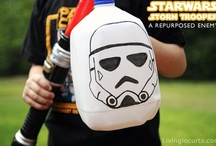 Celebrate: Star Wars Party / A Star Wars party theme for kids. Also good for Star Wars day! #StarWars #party #parties