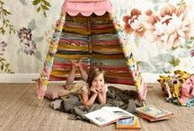 Home | Kids Spaces / Tips and inspiration for organising your home with a focus on play spaces, art areas, and children's rooms.