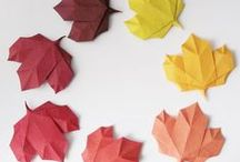 Crafts | Autumn / Crafty ideas and inspiration to learn about the season of falling leaves.