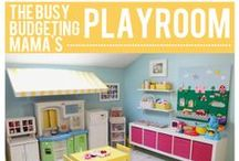 Kids: Playroom / Ideas for decorating a kids' playroom or play space Create a children's room complete with tips for organizing toys and ideas for creating a welcoming place for imaginative and creative play.