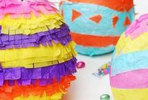 Kids | Easter / Lots of eggcellent ideas, crafts and recipes to celebrate Easter with your kids.