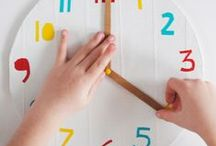 Learn | Tell the Time / Useful resources to teach children to tell the time, and learn the days of the week, months and seasons while having fun!