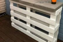 Create: Pallet Crafts / Pallets are oven a free source for crafting materials and a found pallet can be a jackpot find for an avid DIYer.