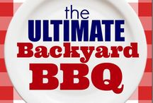 Celebrate: Backyard BBQ Party / BBQ party ideas to host a memorable barbecue party! Backyard parties are the best!
