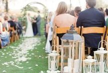 Ceremony Details / Walk down the #aisle in style with these wedding ceremony ideas. / by Paloma Blanca