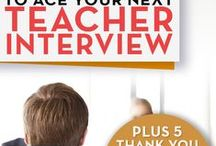 Teacher Job Interview Questions and Answers / Resources to help teachers or administrators answer job interview questions. Also classroom management tips, job search tips, job interview tips, resume and cover letter writing tips.