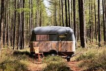 Kantoor_Karavaan / camping, workation, off grid, campers, trailers, caravans, mobile office