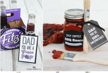 Father's Day / Great gift and party ideas for Dad