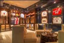 Fit for a King / Mancaves, BBQs, Home Offices, Men's Dressing Rooms, Media Rooms, Garages / by Frank Howard Allen